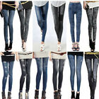 New Women Denim Jeans Sexy Skinny Leggings Jeggings Stretch Long Pants Trousers