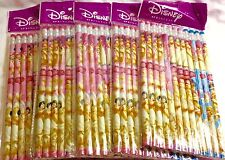 Lot of 5 Packages Disney Princess Pencils Party Favors Cinderella Snow White