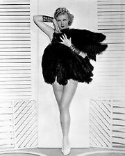 GINGER ROGERS 8x10 PICTURE SEXY LEGGY STRIPPER PHOTO