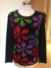 Olivier Philips Sweater Size 20 BNWT Black Red Blue Lime Purple RRP £143 Now £64