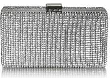 Ladies Designer Wedding Diamante Crystal Clutch Evening Bags Women's Bridal Bag