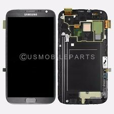 Samsung Galaxy Note 2 i317 T889 N710 LCD Screen Touch Screen Digitizer + Frame
