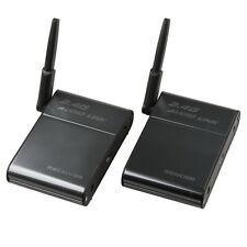2.4G 2.4GHz Universal Stereo Wireless Audio Transmitter Receiver Speaker 50M Set