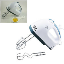 Hand-Held Electric Egg Beater With 7 Speed Mixer Whisk Cake Baking Tool
