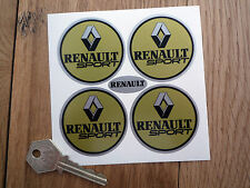 RENAULT  Wheel centre stickers Clio Turbo Megane Rallye