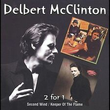 Second Wind/Keeper of the Flame by Delbert McClinton (CD, Jun-2002, Raven)
