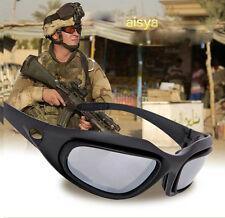 New Men's Tactical eyewear Desert Sun Glasses Protective Bulletproof for airsoft