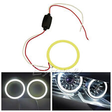 Angel Eyes Headlight 60mm COB 66 Chips Car Halo Ring Decorative White Light