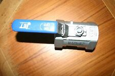 """2"""" 316 stainless steel  1 piece reduced bore ball valve"""