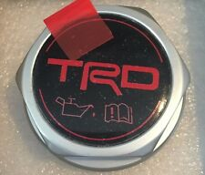 1995-2014 TRD OIL CAP FOR TOYOTA TACOMA AND MOST TOYOTA VEHICLES