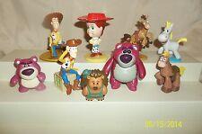 Toy Story PVC Figure Lot of 9 Pricklepants Buttercup Bullseye Jessie More
