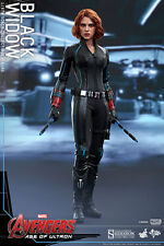 "Hot Toys Avengers: Age of Ultron BLACK WIDOW 12"" Action Figure 1/6 Scale MMS288"