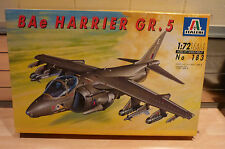 ITALERI 1/72 BAE HARRIER GR 5 MODEL KIT