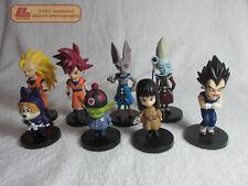 Dragon Ball Z Battle of Gods Kami Son Goku Birus Whis 8 pcs FIGURES SET Toy Gift
