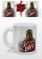 FRIDAY THE 13TH JASON LIVES  MUG NEW GIFT BOXED 100 % OFFICIAL MERCHANDISE