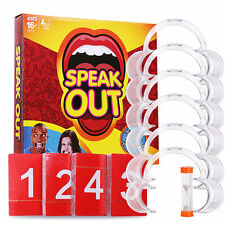 Board Game Speak Out Mouthguard Challenge Family Game NEW RARE Xmas Gifts