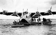 Pan Am Clipper  Boeing 314 Photo Airplane Flying Boat 1930s Southhampton UK