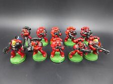 Space Marines Blood Angels Tactical Squad (10) OOP - plastic Warhammer 40K DQ15