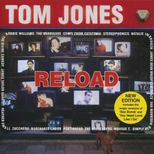 TOM JONES - RELOAD  cd with VAN MORRISON, CERYS MATTHEWS, PORTISHEAD etc