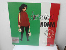 Lp Arrivederci Roma Vittorio Umberto accordion LONG PLAYING made in Usa 1960