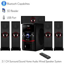 Frisby FS-5090BT 5.1 Ch Home Theater System w/ Bluetooth SD USB AUX for TV or PC