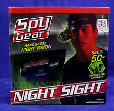 NEW - Spy Gear NIGHT SIGHT Hands-Free Night Vision with HEAD MOUNT See in Dark