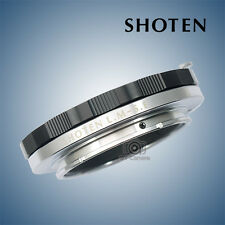 Limited Edition SHOTEN adapter for Leica M mount lens to Sony A7II Black