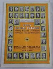1930 Annual Catalog Sunday School Literature, Supplies & Holiday Specialties