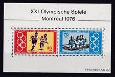 BRD 1976 postfrisch MiNr. Block 12   Olympische Spiele Montreal  76