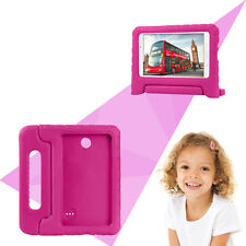 """Rose Shockproof EVA Case Cover with Handle for 7"""" Samsung Galaxy Tab4 T230 T239C"""