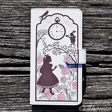 MADE IN JAPAN Wallet Case Alice in Wonderland for iPhone 7 Plus