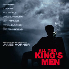 LES FOUS DU ROI (ALL THE KING'S MEN) - MUSIQUE DE FILM - JAMES HORNER (CD)