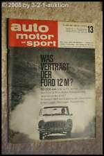 AMS Auto Motor Sport 13/64 DKW F 12 Roadster Ford 12 M TS