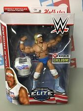 WWE Wrestling Mattel Elite American Made Hulk Hogan Figure Exclusive Flashback