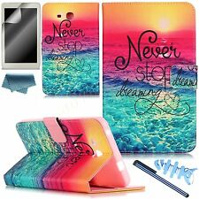 BOYA Cute Patterns PU Leather Stand Case for Samsung Tab A 7.0 T280 T285 Cover
