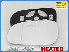 Wing Mirror Glass HONDA ACCORD 1998-2003 Wide Angle HEATED Left Side #JH007
