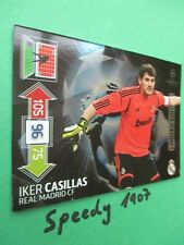 Champions League Casillas  2012 13  limited edition Panini Adrenalyn 12 Update