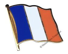 PIN's drapeau FRANCE français badge 2x2cm doré