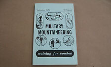 Military Mountaineering Training for Combat TC 90-6-1