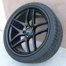 """19"""" 19x8.5 5x114.3 Wheels & Tires PKG Ford Mustang Hyundai Genesis Lexus IS250"""