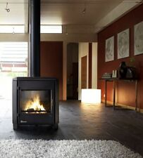 Modern Wood Burner Multi Fuel Stove Fire Invicta Carolo 7-10kw Brand New