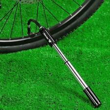 Bike Bicycle MTB Hand Pressure Air Tyre Ball Pump Schrader Presta Valve Q9C3