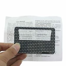 W/LED Light 7x magnifying Lens Credit Card Size Magnifier Wholesale Jewelry Tool