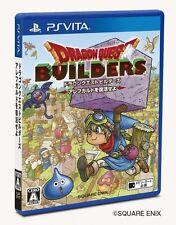 USED PS VITA Dragon Quest Builders Arefugarudo Whatever revive Square Enix F/S