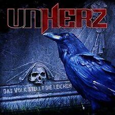 UNHERZ - DAS VOLK STELLT DIE LEICHEN/FANBOX   CD NEU
