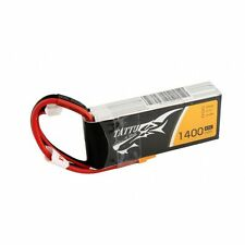 Tattu Gens Ace 1400mAh 3S 11.1V 45C 90C Lipo Battery Pack XT30 FPV Vortex Indy