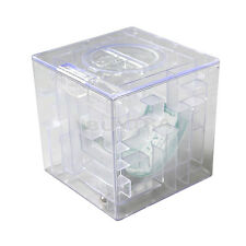 3D Puzzle Game Money Maze Bank Saving  Coin Collectibles Box Kids Gift