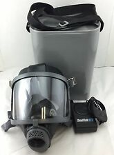 Scott/SEA Domestic Preparedness Gas Mask w/ Small Talk Powered Voice Amp & Case