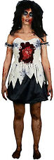 Beating Heart Zombie Morph Costume Womens sz L NEW Halloween Smartphone App
