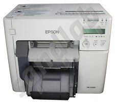 EPSON TM-C3500 Tintenstrahl Etikettenfarbdrucker Color-Labelprinter USB Ethernet